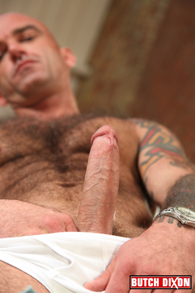 Butch-Dixon-Seth-Wilkins-Hairy-Muscle-Daddy-IMG_8230 Big Uncut Cock and Hairy Muscle Daddy
