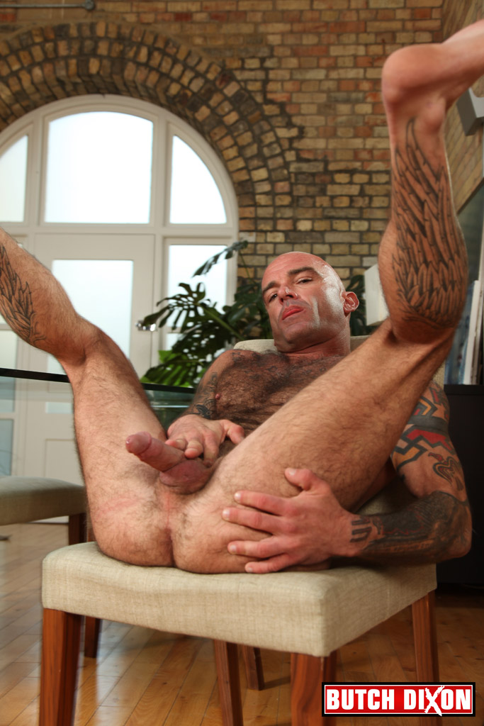 Butch-Dixon-Seth-Wilkins-Hairy-Muscle-Daddy-IMG_8293 Big Uncut Cock and Hairy Muscle Daddy
