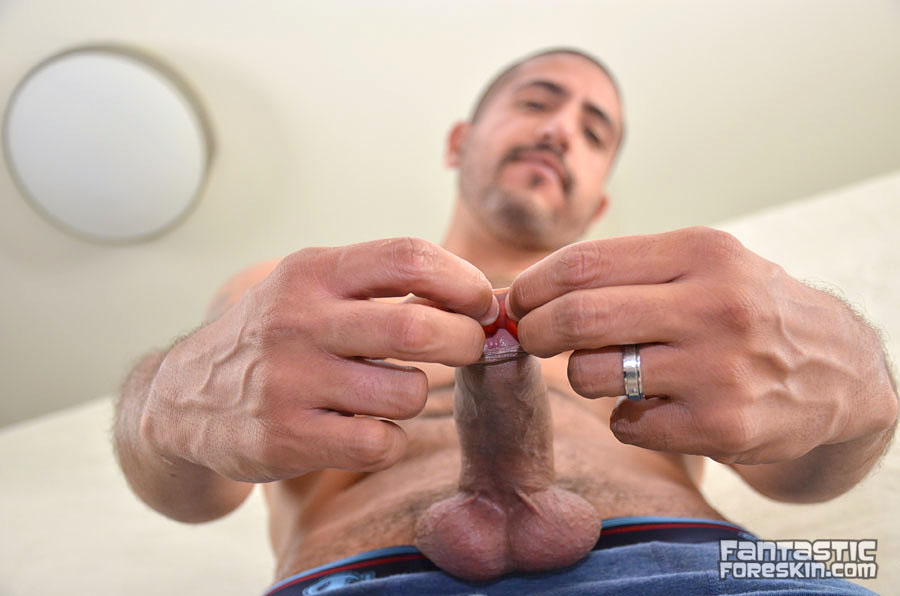 Fantastic Foreskin Sebastion Rio uncut cock video 04 Amateur Latino with a Huge Uncut Cock Gets a Foreskin Exam