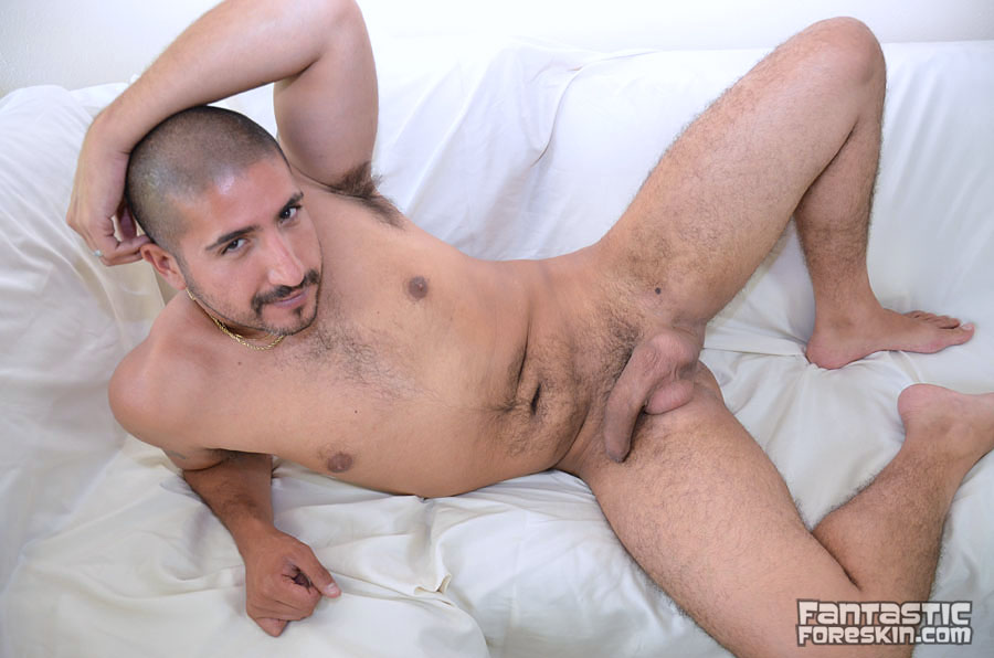 Fantastic Foreskin Sebastion Rio uncut cock video 07 Amateur Latino with a Huge Uncut Cock Gets a Foreskin Exam