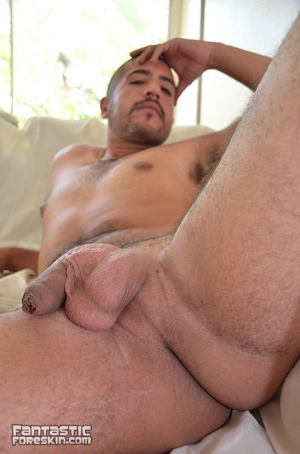 Fantastic Foreskin Sebastion Rio uncut cock video 08 Amateur Latino with a Huge Uncut Cock Gets a Foreskin Exam