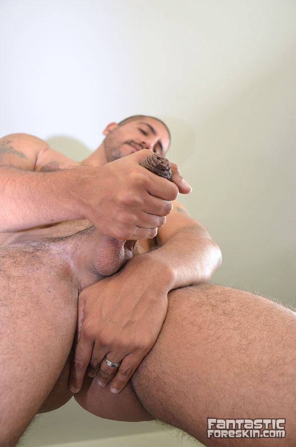 Fantastic Foreskin Sebastion Rio uncut cock video 18 Amateur Latino with a Huge Uncut Cock Gets a Foreskin Exam