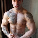Bentley Race Max Hilton Uncut cock Muscle 12 150x150 Amateur Straight Bodybuilder Shows off his Massive Uncut Cock