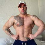 Bentley Race Max Hilton Uncut cock Muscle 21 150x150 Amateur Straight Bodybuilder Shows off his Massive Uncut Cock