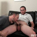 Seth Chase Eric Stowe Uncut Cock Sucking 15 150x150 Hairy Straight Amateur Nerd Gets His Big Uncut Cock Sucked