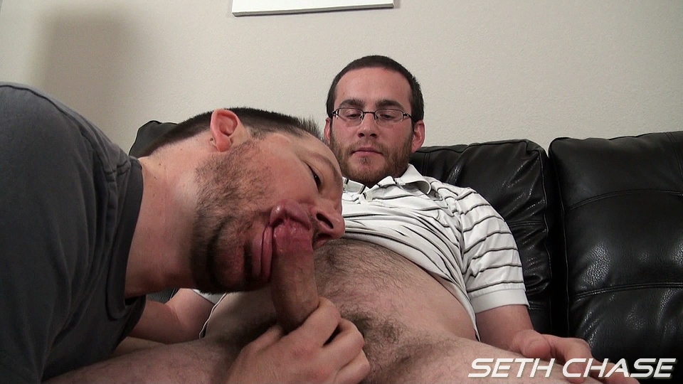 Seth Chase Eric Stowe Uncut Cock Sucking 19 Hairy Bearded Straight Guy Gets His Cock Sucked For the First Time By a Gay Guy