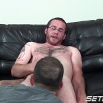 Seth Chase Eric Stowe Uncut Cock Sucking 27 150x150 Hairy Straight Amateur Nerd Gets His Big Uncut Cock Sucked