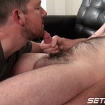 Seth Chase Eric Stowe Uncut Cock Sucking 30 150x150 Hairy Straight Amateur Nerd Gets His Big Uncut Cock Sucked