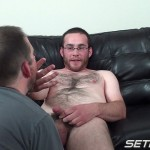 Seth Chase Eric Stowe Uncut Cock Sucking 40 150x150 Hairy Straight Amateur Nerd Gets His Big Uncut Cock Sucked