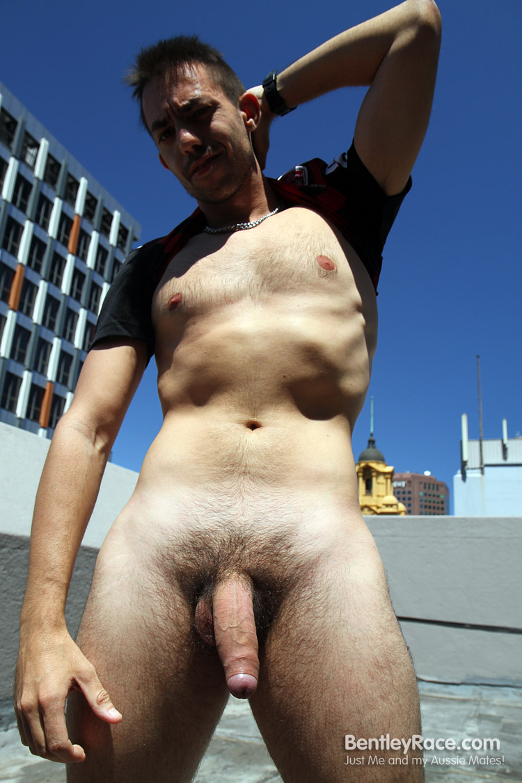 BentleyRace-GustavoDiaz-big-uncut-cock-21 Spanish Aussie Soccer Player with a Huge Uncut Cock