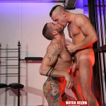 Butch Dixon Harley Everett and Diesel OGreen bareback 08 150x150 Amateur British Guys With Huge Uncut Cocks Fucking Bareback