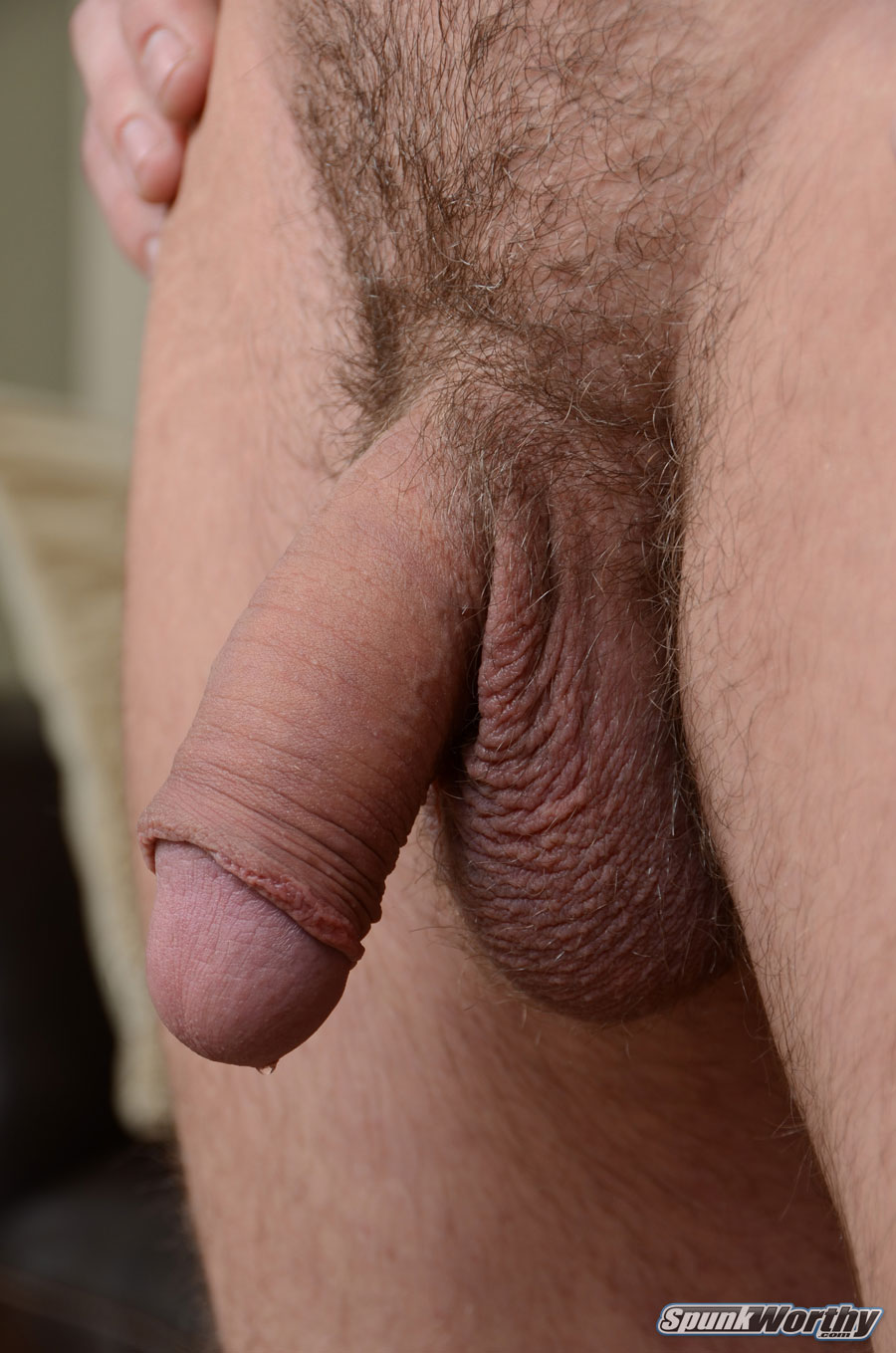 SpunkWorthy-Eli-Straight-Marine-With-Big-Uncut-Cock-Masturbating-Jerking-Off-05 Real Straight Marine With Huge Uncut Cock Shoots His Cum Load