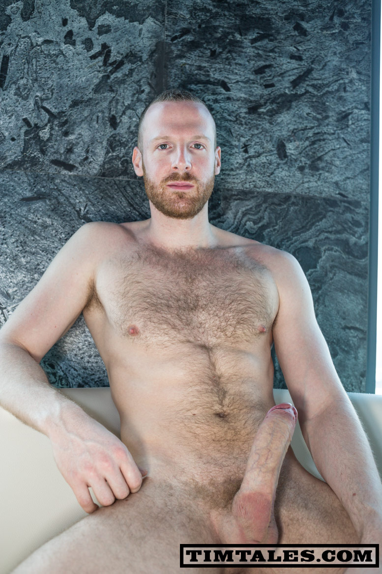 TimTales Tim in Bangkok Huge Uncut Cock Redhead with big cock 08 TimTales: Redheaded Tim Shows Off His Massive Uncut Erect Cock