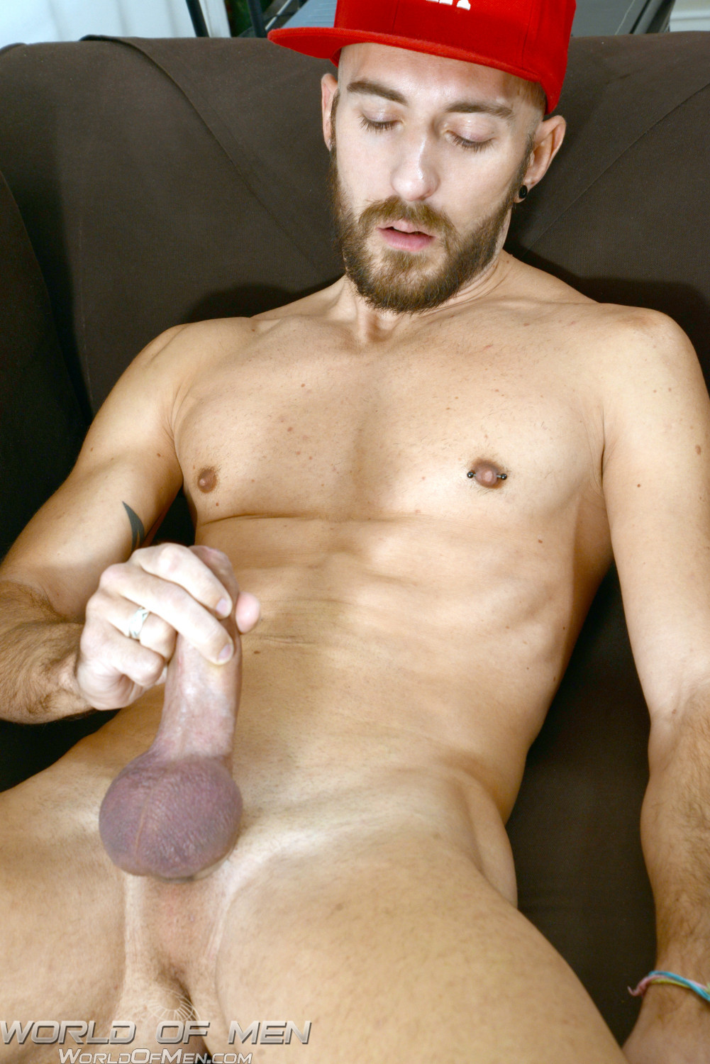 World of Men Enzo DiKarina french guy with a huge uncut cock massive cum load 09 Amateur French Hustler With Huge Uncut Cock Blasts Cum All Over