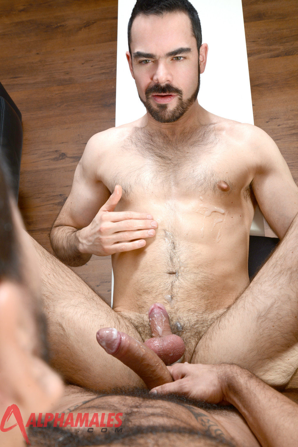 AlphaMales-Dolan-Wolf-and-Tiko-Foot-Massage-Latino-Big-Uncut-Cock-Fucking-Amateur-Gay-Porn-10 Hairy Muscle Guys Foot Massage Leads To Huge Uncut Cock Fucking