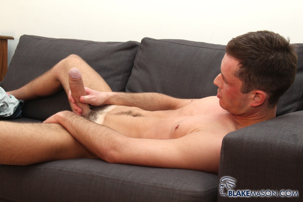 Blake Mason Charlie Hunter Big Thick Uncut Cock Foreskin Masturbating Amateur Gay Porn 12 Sexy British Stud Jerks Off His 8 Thick Uncut Cock