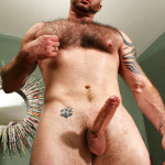 Hard Brit Lads Justin King Young Hairy Muscle Bear Big Uncut Cock Amateur Gay Porn 12 150x150 Amateur Young Hairy Muscle British Lad Jerks His Big Uncut Cock