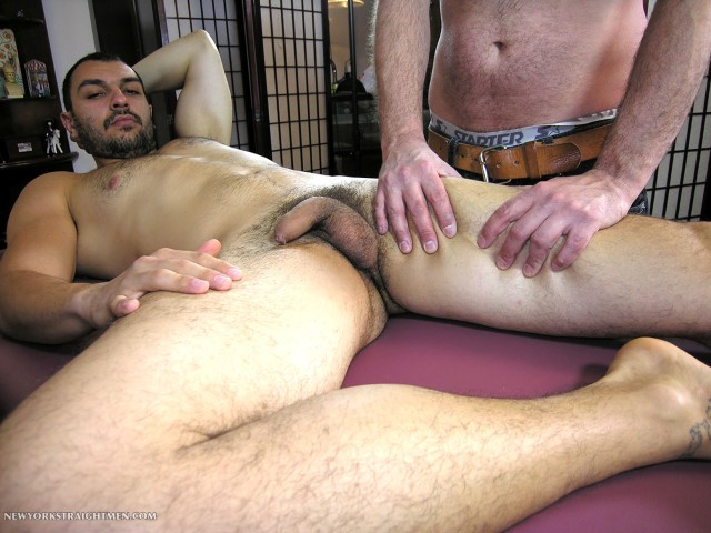New York Straight Men Srdjan hairy Serbian gets his cock sucked Amateur Gay Porn 08 Amateur Straight Hairy Uncut Serbian Gets Blown By A Guy