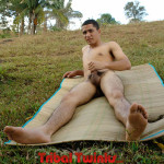 Tribal Twinks Eddie Big Uncut Thick Cock Masturbation Amateur Gay Porn 10 150x150 Amateur Latin Twink Masturbating His Thick Uncut Cock Outdoors