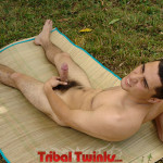 Tribal Twinks Eddie Big Uncut Thick Cock Masturbation Amateur Gay Porn 11 150x150 Amateur Latin Twink Masturbating His Thick Uncut Cock Outdoors