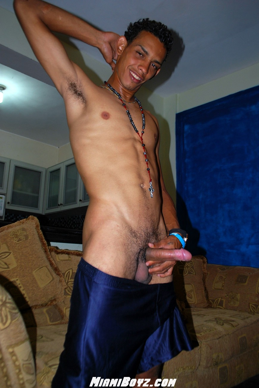 MiamiBoyz PABLO big uncut latino straight cock jerking off Amateur Gay Porn 46 Amateur Straight Latino Teen From Miami Jerks His Huge Uncut Cock