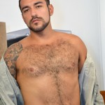 DOMINIC PACIFICO Nicko Morales Big Uncut Cock Masturbation Amateur Gay Porn 06 150x150 Amateur Straight Muscular Hairy Hunk With Huge Uncut Cock Jerks Out A Huge Cum Load