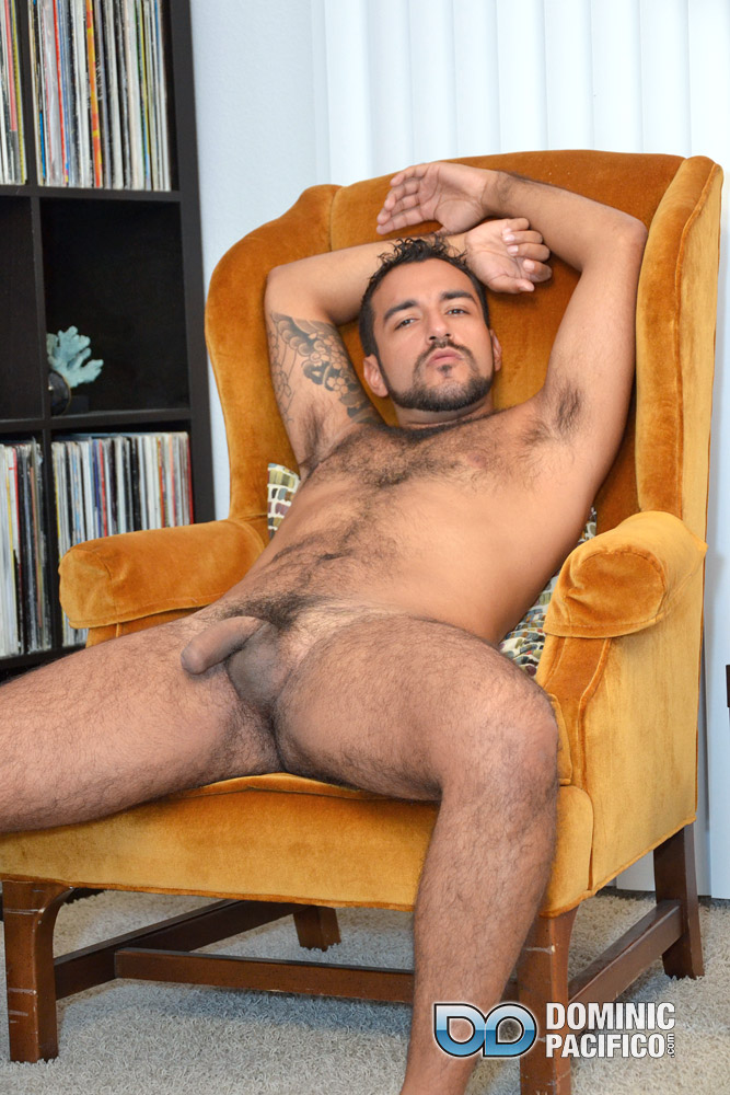 DOMINIC PACIFICO Nicko Morales Big Uncut Cock Masturbation Amateur Gay Porn 13 Amateur Straight Muscular Hairy Hunk With Huge Uncut Cock Jerks Out A Huge Cum Load