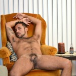 DOMINIC PACIFICO Nicko Morales Big Uncut Cock Masturbation Amateur Gay Porn 14 150x150 Amateur Straight Muscular Hairy Hunk With Huge Uncut Cock Jerks Out A Huge Cum Load