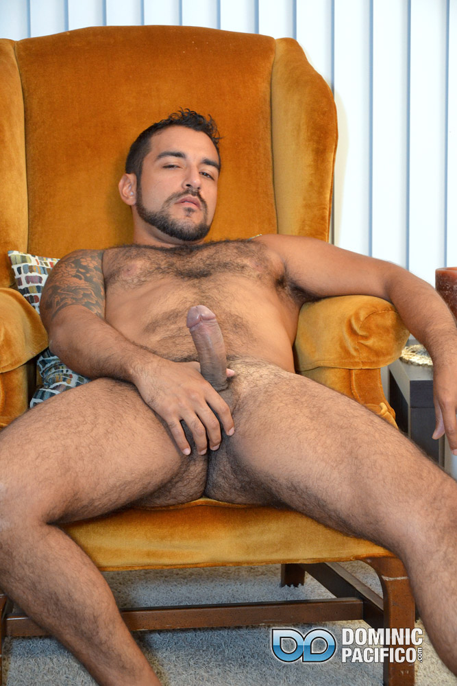 DOMINIC PACIFICO Nicko Morales Big Uncut Cock Masturbation Amateur Gay Porn 15 Amateur Straight Muscular Hairy Hunk With Huge Uncut Cock Jerks Out A Huge Cum Load