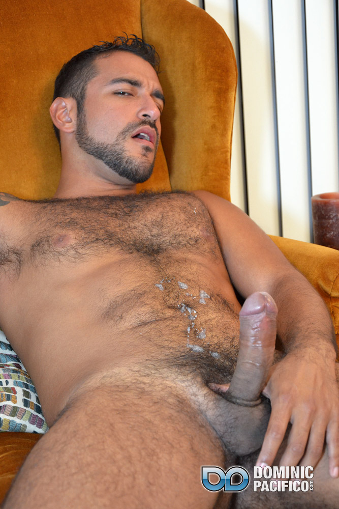 DOMINIC PACIFICO Nicko Morales Big Uncut Cock Masturbation Amateur Gay Porn 20 Amateur Straight Muscular Hairy Hunk With Huge Uncut Cock Jerks Out A Huge Cum Load