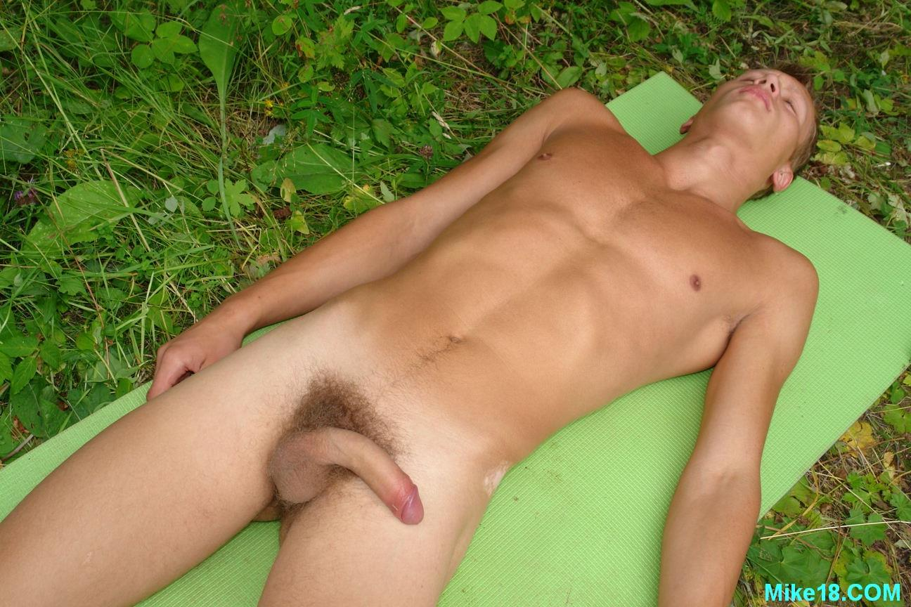 Blonde Hairy 18 year old Twink With Big Uncut Cock Masturbating Amateur Gay Porn 06 18 Year Old Blonde Hair Cute Twink Jerking Off His Big Uncut Cock Outside