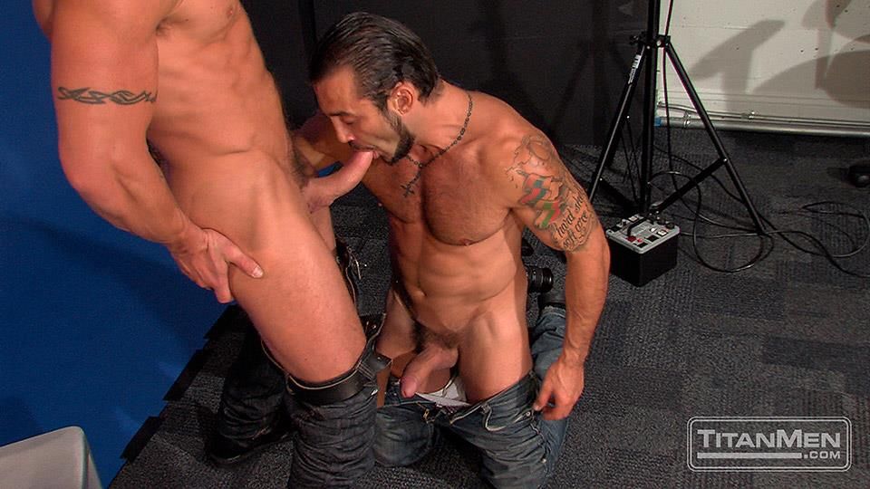 Titan Men Pounded Scene 1 George Ce Trenton Ducati Muscle Hunks With Big Uncut Cock Fucking Amateur Gay Porn 17 Muscle Hunk With A Thick Uncut Cock Fucks Another Muscle Hunk