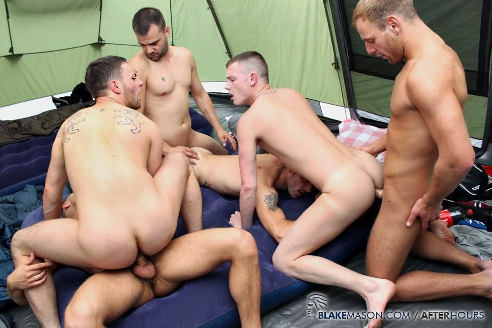 Blake-Mason-Kai-Bradley-S-Bishop-Matt-Brookes-Fraser-Riley-Tess-Josh-Jared-Uncut-Cock-Orgy-Amateur-Gay-Porn-16 Amateur Hung Uncut Guys Have An Outdoor Orgy Camping In A Tent
