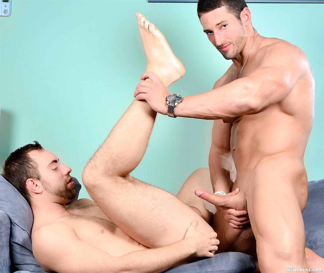 Men-of-Montreal-Alec-Leduc-and-Christian-Power-Muscle-Body-Builders-Fucking-Big-Uncut-Cocks-Amateur-Gay-Porn-14 Big Uncut Cock Amateur Canadian Body Builders Fucking Hard