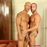 UK Naked Men Aymeric Deville and Craig Farrel Big Thick Uncut Cocks Fucking Amateur Gay Porn 15 150x150 Aymeric Deville And His Thick Uncut Cock Getting Fucked By A Stranger