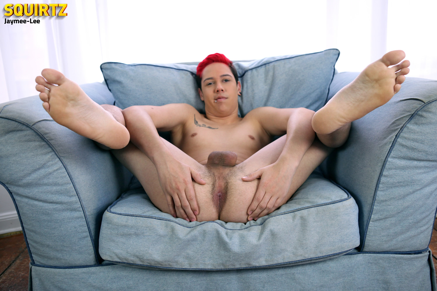 Squirtz-Jaymee-Lee-Twink-Jerking-Off-Massive-Uncut-Cock-Amateur-Gay-Porn-07 Amateur Florida Twink Jaymee-Lee Jerking His Massive Uncut Cock