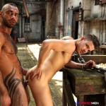UK Naked Men Fuck Loving Criminals Episode 4 Tony Thorn and Fabio Lopez Hairy Arab Fucking A Smooth Guy Amateur Gay Porn 10 150x150 Hairy Muscle Stud Tony Thorn Fucking Smooth Muscle Hunk Fabio Lopez