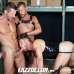 Cazzo Club Hans Berlin Logan Rogue Tomas Brand Big Uncut Cock Guys Fucking Amateur Gay Porn 03 150x150 Leather, Muscles, Three Big Uncut Cocks And Agressive Fucking