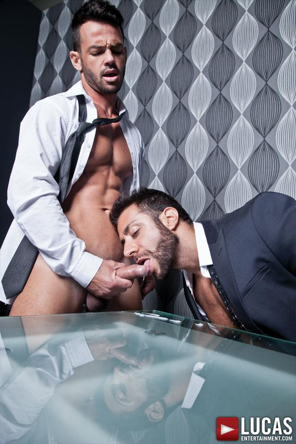 Lucas-Entertainment-Adriano-Carrasco-and-Valentino-Medici-Huge-Uncut-Cocks-Men-In-Suits-Fucking-Amateur-Gay-Porn-08 Hunks In Business Suits With Big Uncut Cocks Fucking Hard