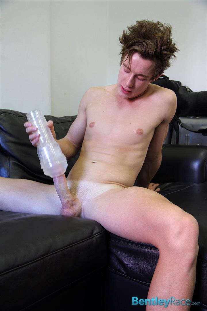 MaxGatling69 Aussie Twink Max Gatling Jerks His Massive Uncut Cock