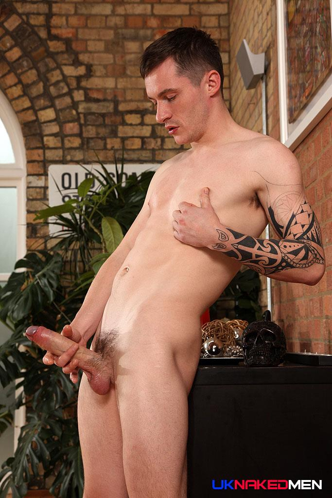 UK Naked Men Daniel James Young British Guy Jerking His Big Uncut Cock Amateur Gay Porn 15 Young British Guy Jerking Off A Huge Uncut Cock