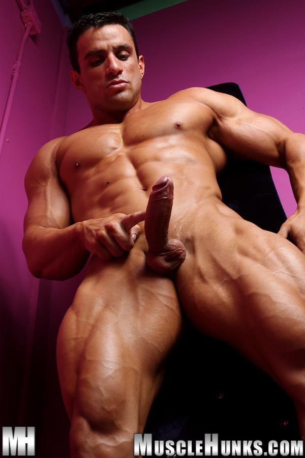 Muscle Hunks Macho Nacho Powerlifter With A Big Uncut Cock Amateur Gay Porn 07 Muscle Hunk Macho Nacho Playing With His Big Uncut Cock