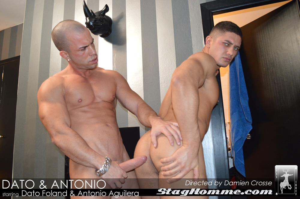 StagHomme-Studios-Dato-Foland-and-Antonio-Aguilera-Muscle-Hunks-With-Huge-Uncut-Cocks-Fucking-Amateur-Gay-Porn-12 Dato Foland & Antonio Aguilera Masculine Muscle Hunks Fucking