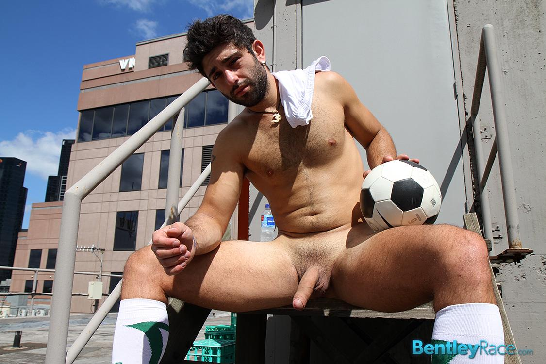 Straight men football gay first time