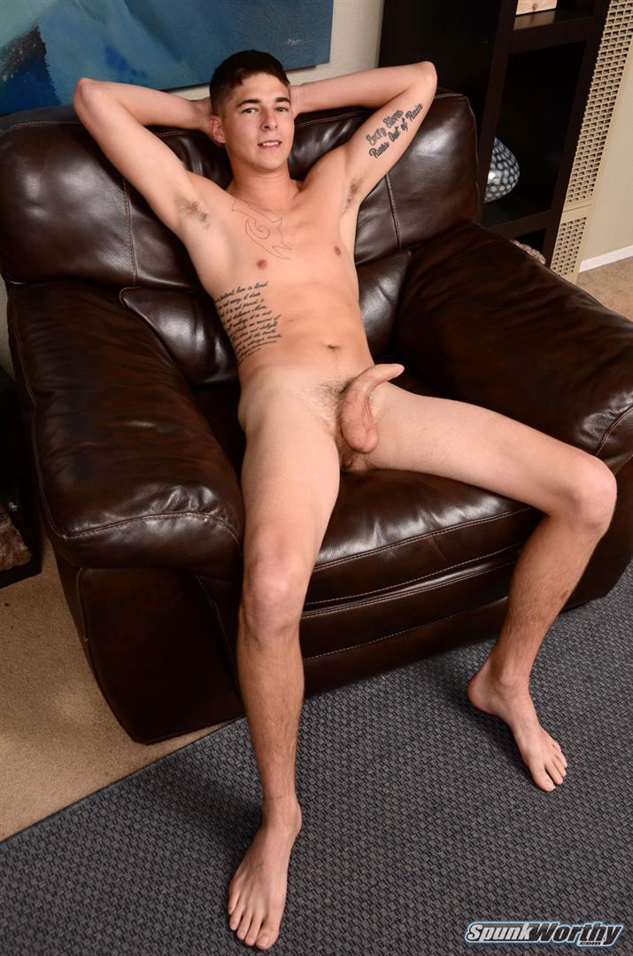 SpunkWorthy Alec Straight Marine With A Big Uncut Cock Amateur Gay Porn 04 Straight Marine With A Big Uncut Cock Gets A Helping Hand