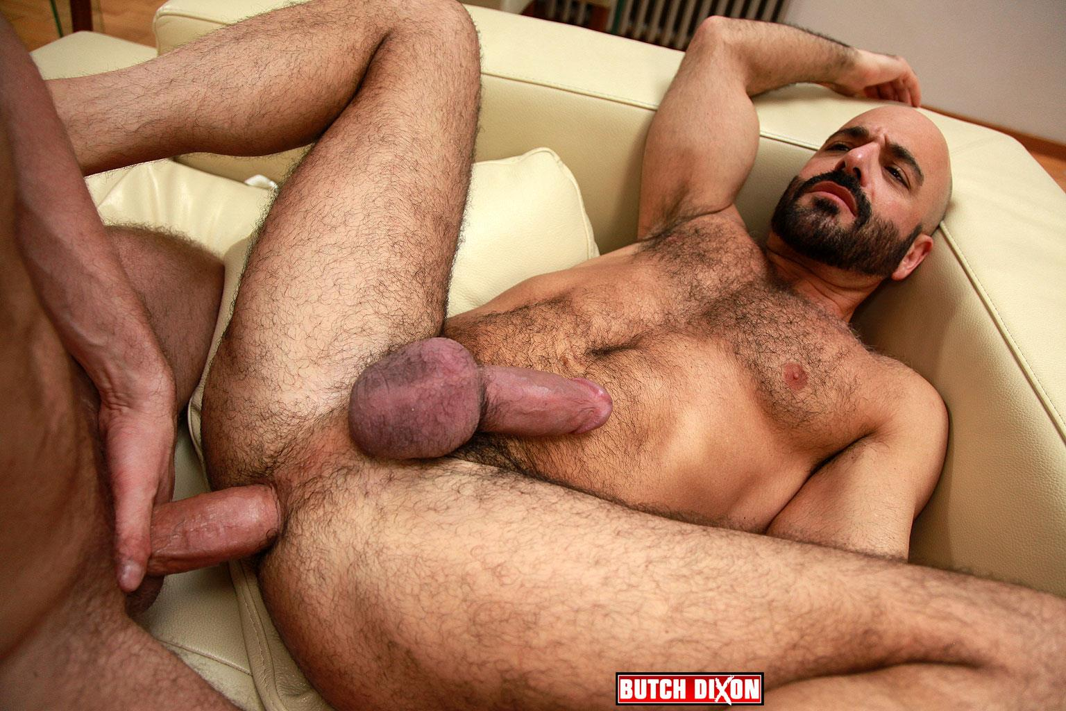 Butch Dixon Adam Russo and Adam Dacre Getting Fucked By A Big Uncut Cock Amateur Gay Porn 09 Adam Russo Getting A Big Bareback Uncut Cock Up His Hairy Ass