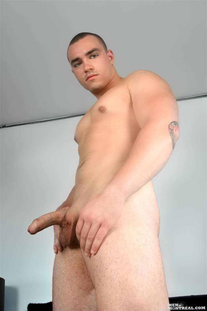 Men-of-Montreal-Scott-Lapoint-Canadian-Muscle-Hunk-With-A-Big-Uncut-Cock-Amateur-Gay-Porn-15 Canadian Muscle Hunk Scott Lapoint Stroking His Big Uncut Cock