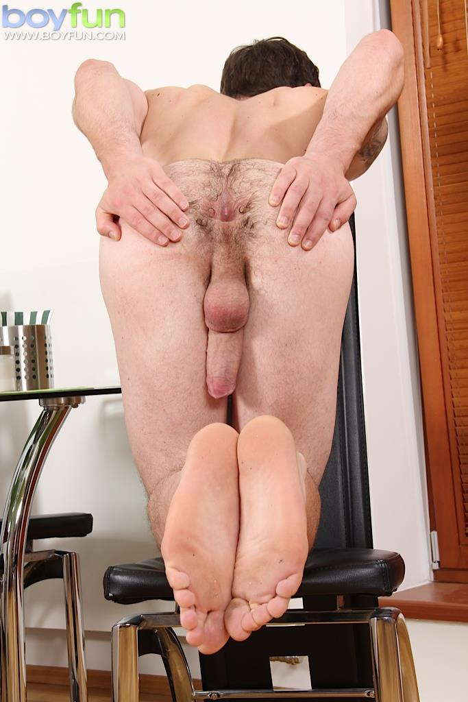 BoyFun James Huck Twink With A Big Uncut Cock and Hairy Ass Jerking Off Amateur Gay Porn 19 Twink Playing With His Big Uncut Cock And Hairy Ass