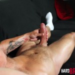 Hard Brit Lads Sam Porter British Muscle Hunk With A big Uncut cock Amateur Gay Porn 21 150x150 Tatted Muscle British Hunk Sam Porter Jerking His Big Uncut Cock
