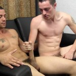 Straight Fraternity Victor and Gage Straight Guy Gets Blowjob From Gay Guy Handjob Amateur Gay Porn 16 150x150 Straight Guy With A Big Uncut Cock Goes Gay For Pay